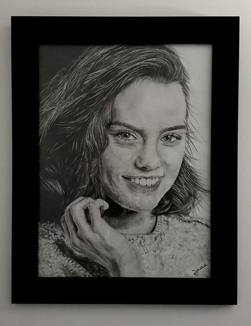 Daisy Ridley par KLG
